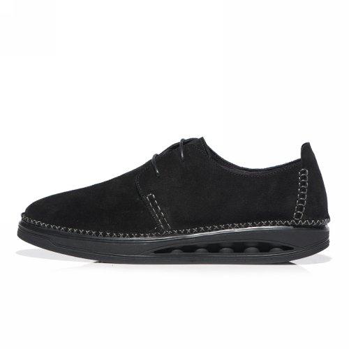 宾木 限量款手工缝制 英伦厚底 运动休闲鞋 摇摇鞋男健步鞋 LI8012
