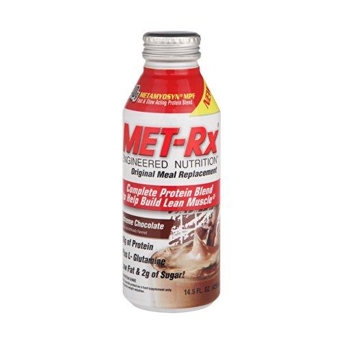 MET-Rx 美瑞克斯 全效营养餐包饮料 (巧克力味)429ml/瓶(进口)-图片