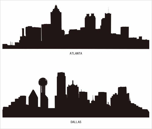 giftour 集物特 创意生活 城市剪影墙贴 1814036图片