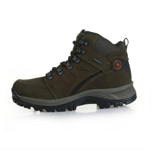 Cantorp 正品 舒适保暖高帮男鞋骆驼登山鞋户外鞋男 C14013头层牛皮