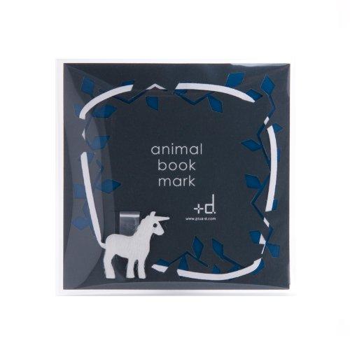 d d-132-un高档皮革可爱小动物书签 独角兽