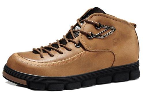 XiyuCamel西域骆驼 英伦复古板鞋 日常休闲男鞋 帅气有型 舒适轻便款 优质牛皮 防滑耐磨底 男鞋