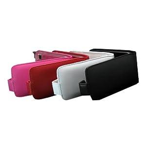 真皮世家 三星i809 手机真皮保护套 皮套 红色高清图片