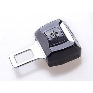 扣 插销 卡扣汽车警报解除静音 高档烤漆车标安全带插扣 日产车标高清图片