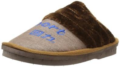 Warrior 回力 男 居家鞋 1379 棕色 42-43
