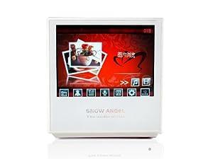 雪天使 MP5 音箱BX-05 白色 3.5屏电影直播/遥控/锂电/录音/FM/2GB内存