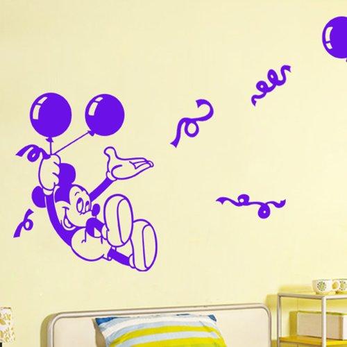 米奇墙面手绘