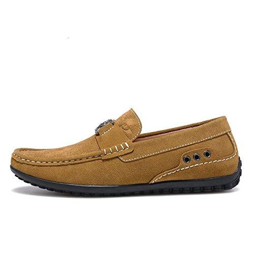 Z.Suo 走索 2014秋季男鞋时尚休闲鞋豆豆鞋反绒皮套脚低帮鞋驾车鞋驾驶鞋一脚蹬懒人鞋子