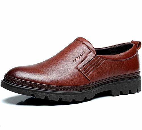 FGN 富贵鸟 时尚大气商务休闲皮鞋 低帮正装鞋 男士休闲皮鞋 休闲鞋 新款套脚男鞋 四季鞋男鞋