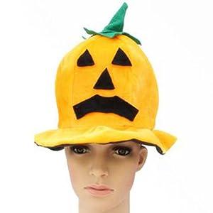 快乐派对 万圣节用品 道具 南瓜装扮服装 万圣节帽子 圆形南瓜帽怎么图片