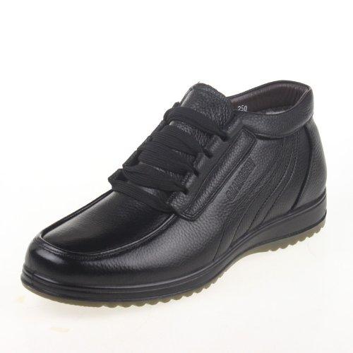 强人 3515强人正品 冬季男士羊毛鞋 商务休闲保暖棉鞋9Z-689C