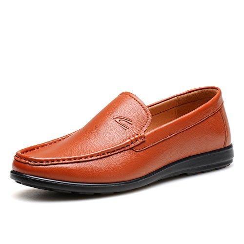 德国骆驼动感Camel Active男鞋真皮耐磨简约套脚懒人鞋 2015新款牛皮休闲皮鞋2330