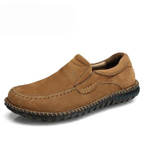 Camel 骆驼 男鞋 套脚 磨砂牛皮 舒适休闲 日常休闲鞋 新品 82309604