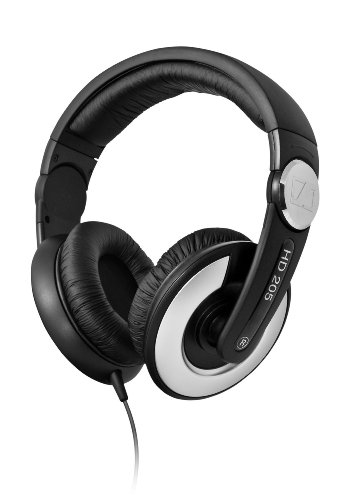 Sennheiser 森海塞尔 HD205 II 封闭式头戴专业监听耳机