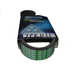 日本三之星汽车皮带 7pk1135 发电机 空调/压缩机皮带 (轩高清图片