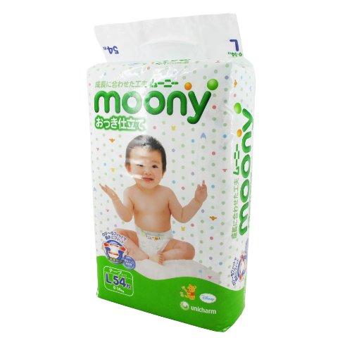MOONY 纸尿裤 L54片 (9-14kg适用) (日本进口)