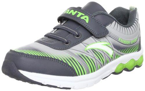 ANTA 安踏 跑步系列 男童 跑步鞋 灰/绿/白色 36 31245529-2