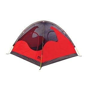 Rocvan 诺可文 A058B 三人三季双层户外露营帐篷 红色 299元(满299-60 即239元包邮)