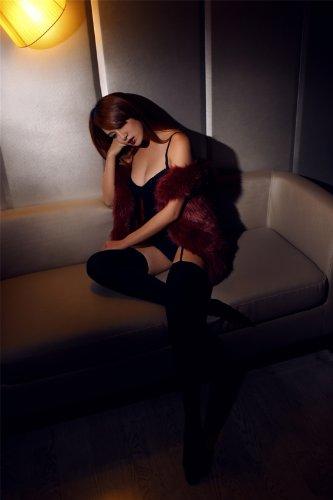 selebriteev情趣情趣一体式吊带袜红色实拍8199桓情趣真人淼淼图片