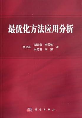 最优化方法应用分析.pdf