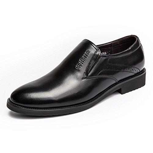 MULINSEN 木林森 男鞋套脚英伦商务皮鞋办公室正装鞋男士单鞋