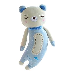 poscn 毛绒玩具布娃娃大号瞌睡熊可爱抱抱熊玩偶公仔