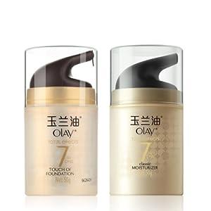 OLAY 玉兰油 多效修护粉嫩气色霜50g+多效修护霜50g  188-50