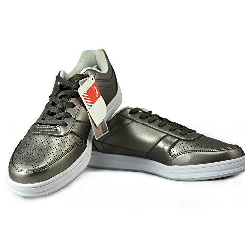 断码清仓正品李宁LINING 男款乒乓球鞋 休闲运动鞋 皇冠色 男士板鞋APCF001-1