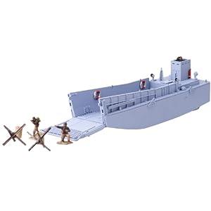 FORCES OF VALOR 力豪 95042海军灰1:1000模型 二战LCM3登陆艇U.S.Landing Craft LCM3 (Normandy,1944)