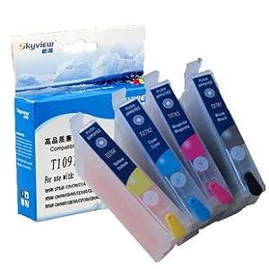 [格唯] 爱普生墨盒 80W 1100 ME30 ME300 填充墨盒 T1091填充墨盒