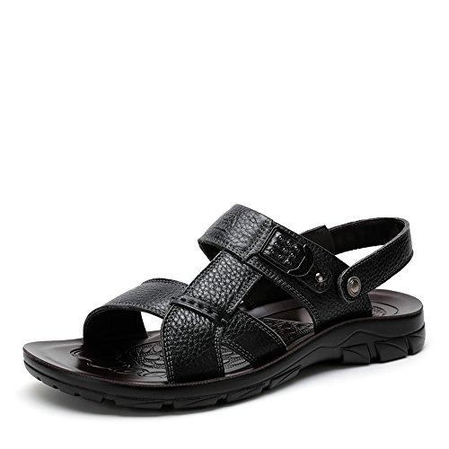 Camel 骆驼 男鞋 2015夏季新款牛皮凉鞋 日常休闲舒适透气凉鞋男款A522287342