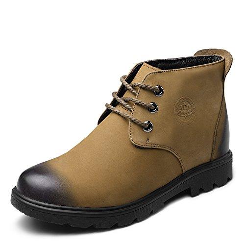 2015冬季新款男士内增高磨砂高帮棉鞋7.0厘米515840