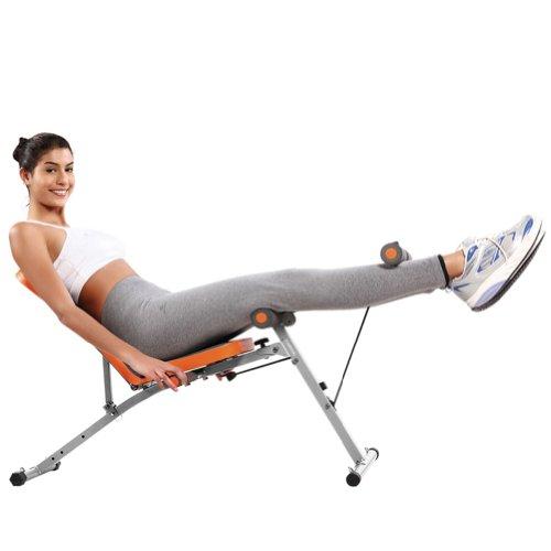 5AFIT 我爱健身 多功能健身椅 仰卧板 腹肌板 拉力训练  BC08 家用健身器材首选-图片