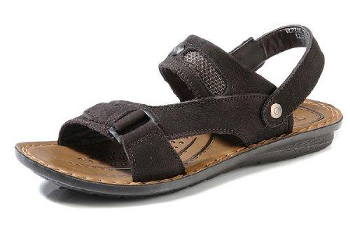 Camel Active 骆驼动感 夏季新款男鞋 男士透气真皮凉鞋 时尚休闲沙滩鞋 帅气露趾凉鞋
