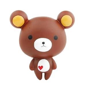 可爱玩具挂饰 超q饼干熊吸盘