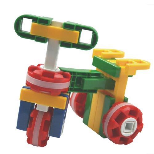儿童益智力乐高积木拼装玩具车船飞机塑料拼插大颗粒3/4岁以上213