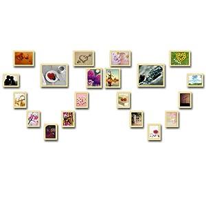润格 精美照片墙 现代创意组合 相框组合 婚纱照照片