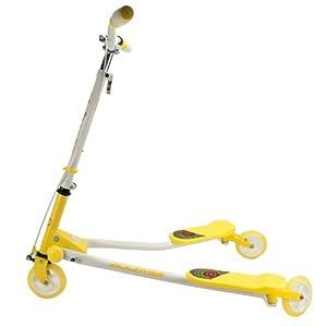儿童三轮滑板车(黄色)