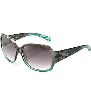 PARIM 派丽蒙 太阳镜女款时尚大框墨镜 9301 G1  89元包邮