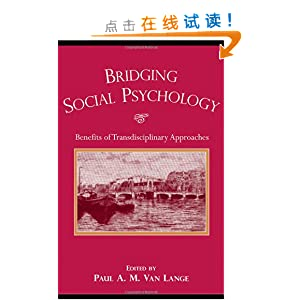 idging Social Psychology Benefits of Transdisciplinary Approaches
