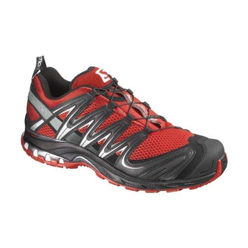 Salomon 萨洛蒙 SHOES XA PRO 3D  男 跑步鞋 355665 深红色 43 1/3 (UK 9)