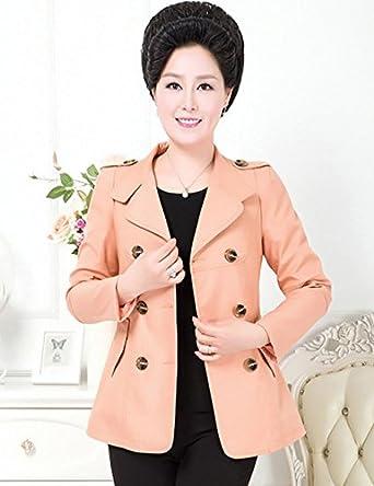2014新款中老年风衣女中年妇女春秋装上衣胖图片