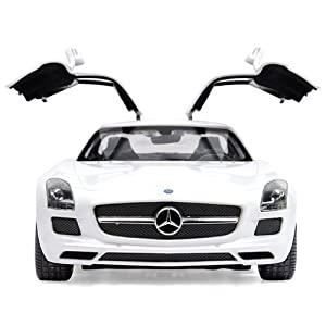 星辉车模 星辉1:14奔驰sls amg 跑车车模 儿童遥控玩具 高清图片