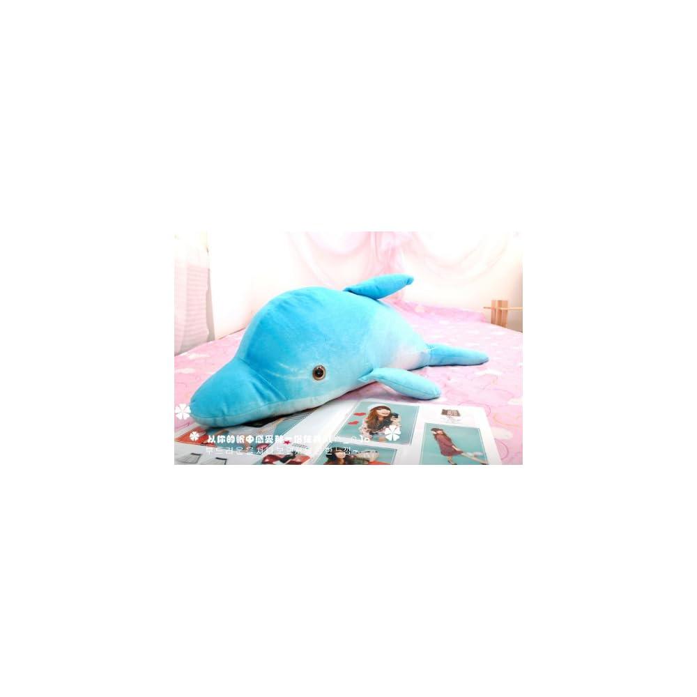海豚公仔 毛绒玩具布娃娃大号