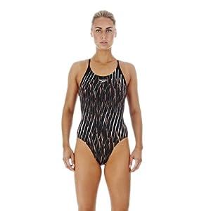 SPEEDO速比涛女装连体三角泳衣(黑色)21020299