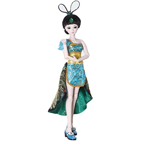 艾萌 精灵梦叶罗丽仙子娃娃芭比娃娃套装玩具 动漫系列 (60cm, 孔雀图片