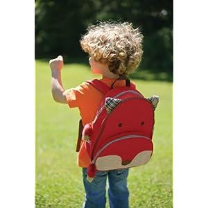 呆萌可爱:美国SKIP HOP可爱动物园小童背包小狐狸¥159