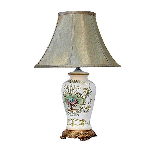 欧式田园风格手绘陶瓷台灯tdt0003c