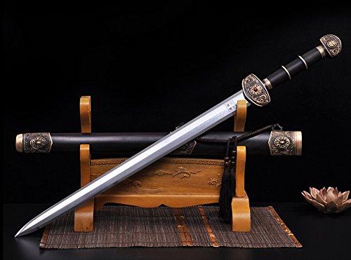 八面汉剑 【一体锻造】可作为工艺收藏品 家居摆件 手工制作 未开刃