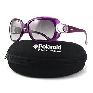 Polaroid 宝丽来 女款 时尚偏光太阳镜  PD7850 PU2 紫色框/灰片 138元包邮